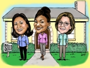 Caricature for Real Estate Company